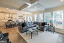 Inviting great room perfect for living - 2020 CONLEY CT, SILVER SPRING