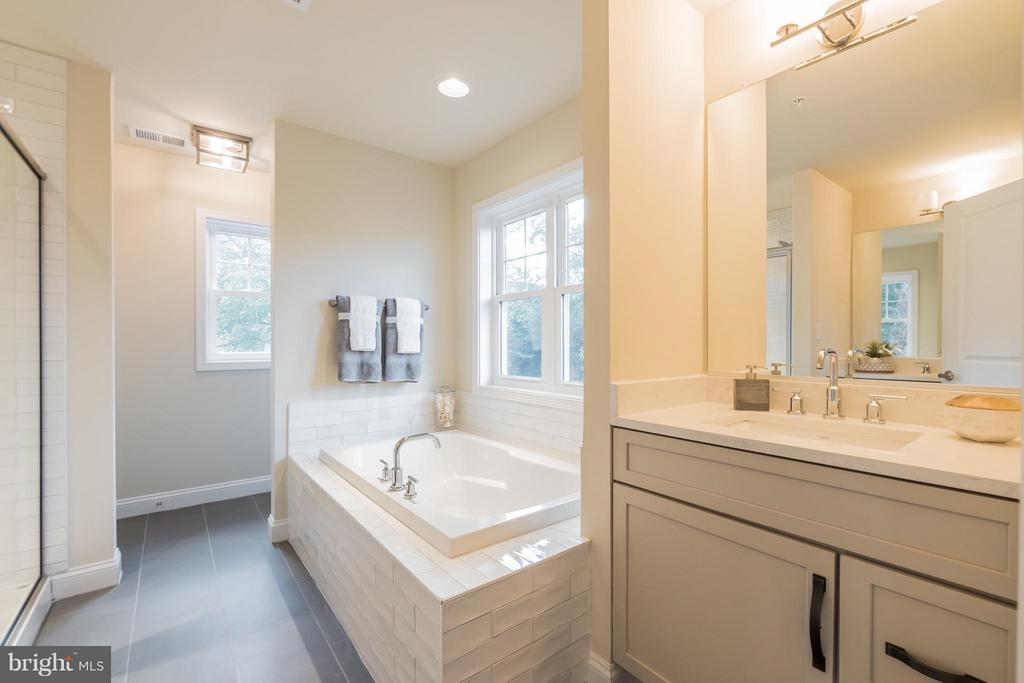 Separate soaking tub and shower - 2020 CONLEY CT, SILVER SPRING