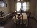 Large separate Dining Room - 3531 TEXAS AVE SE, WASHINGTON