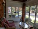 Beautiful glassed in front porch - 3531 TEXAS AVE SE, WASHINGTON