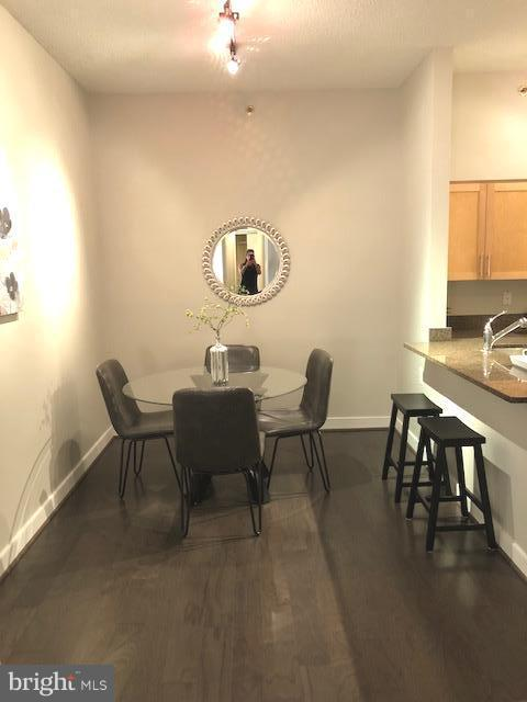Eating area off of kitchen - 7500 WOODMONT AVE #S217, BETHESDA