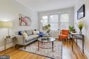 Living Room - 3411 29TH ST NW #3, WASHINGTON