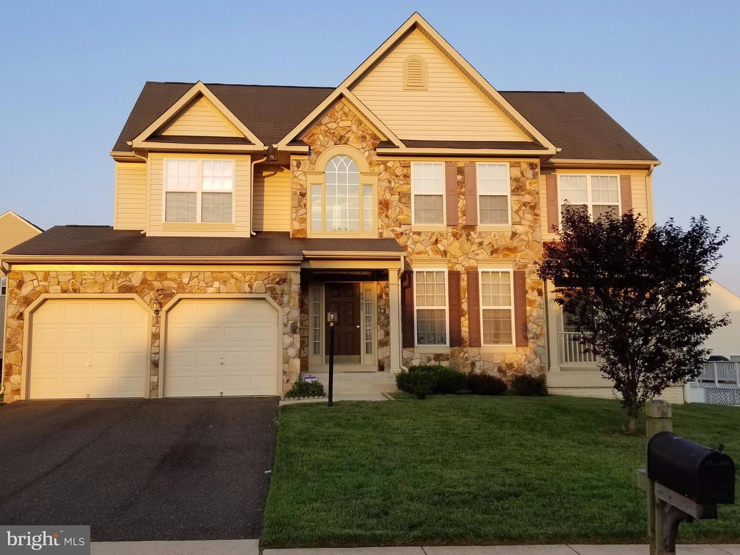 Photo of home for sale at 8905 Myrtle Avenue, Bowie MD