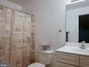 Lowe level full bath - 10409 COLESVILLE RD, SILVER SPRING