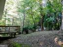Private backyard - 10409 COLESVILLE RD, SILVER SPRING