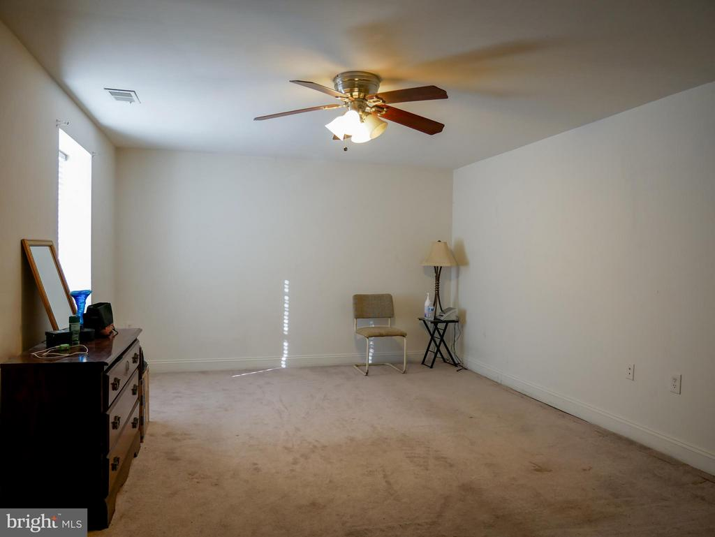 Lower level family room - 10409 COLESVILLE RD, SILVER SPRING