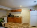 Lower level kitchenette - 10409 COLESVILLE RD, SILVER SPRING