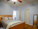 Main level Master Bedroom - 10409 COLESVILLE RD, SILVER SPRING
