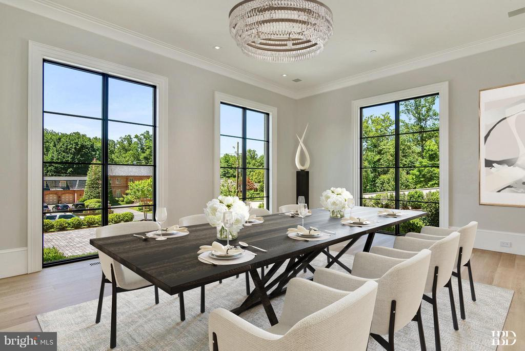 Dining Room - 7205 ARROWOOD RD, BETHESDA