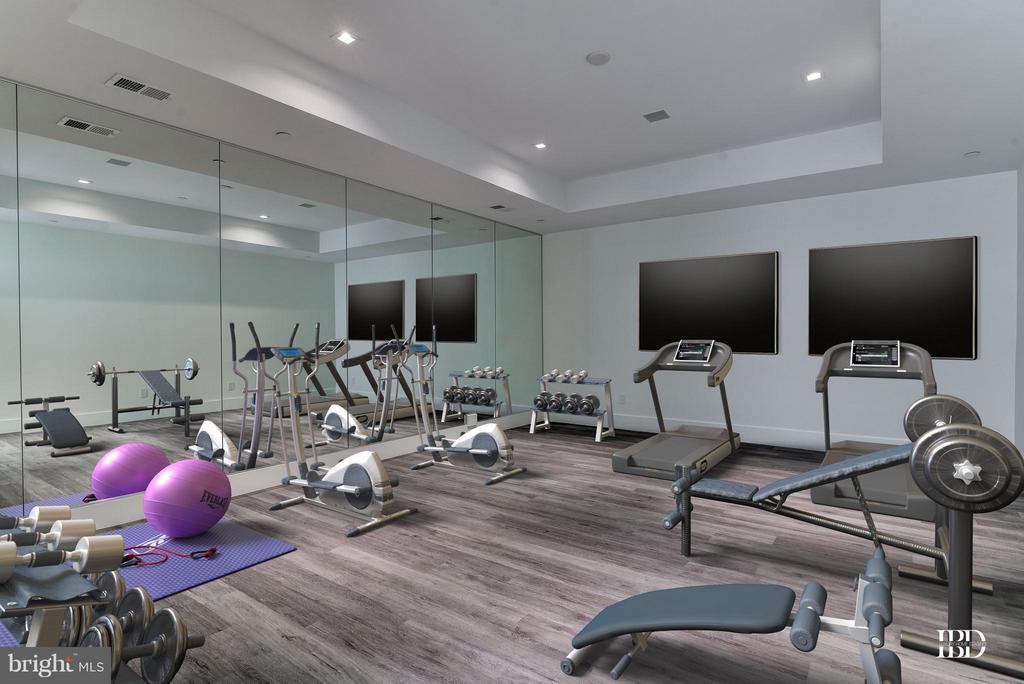 Exercise Room - 7205 ARROWOOD RD, BETHESDA