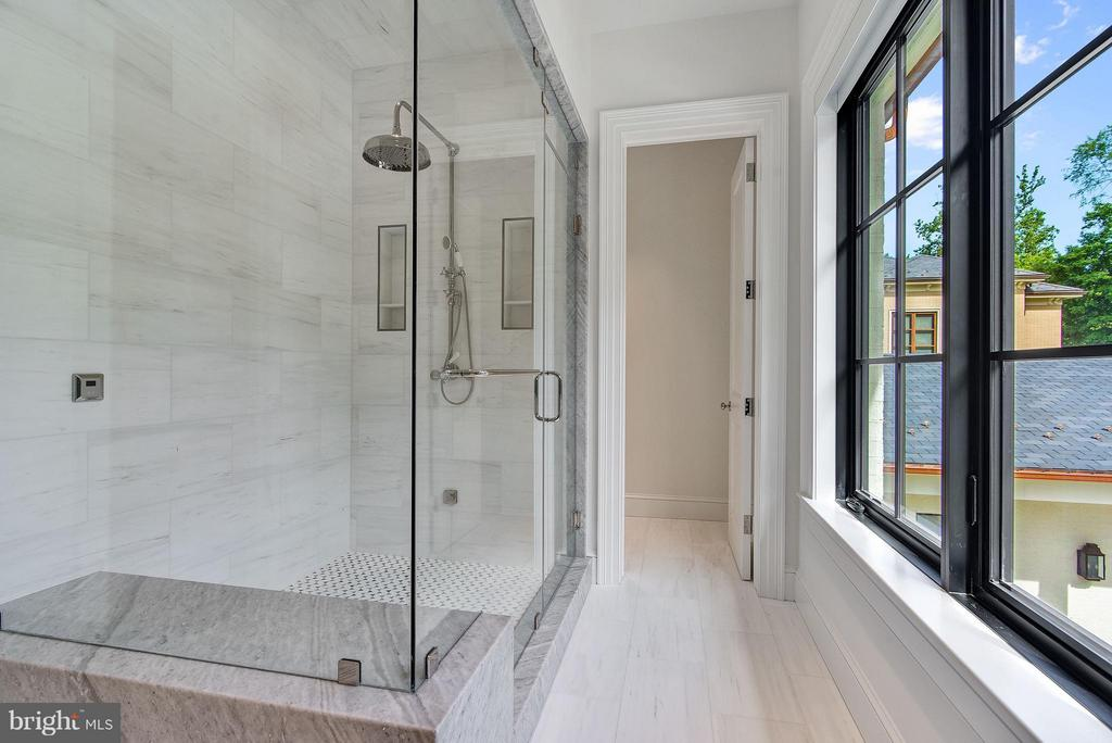 His Bath (Master) - 7205 ARROWOOD RD, BETHESDA