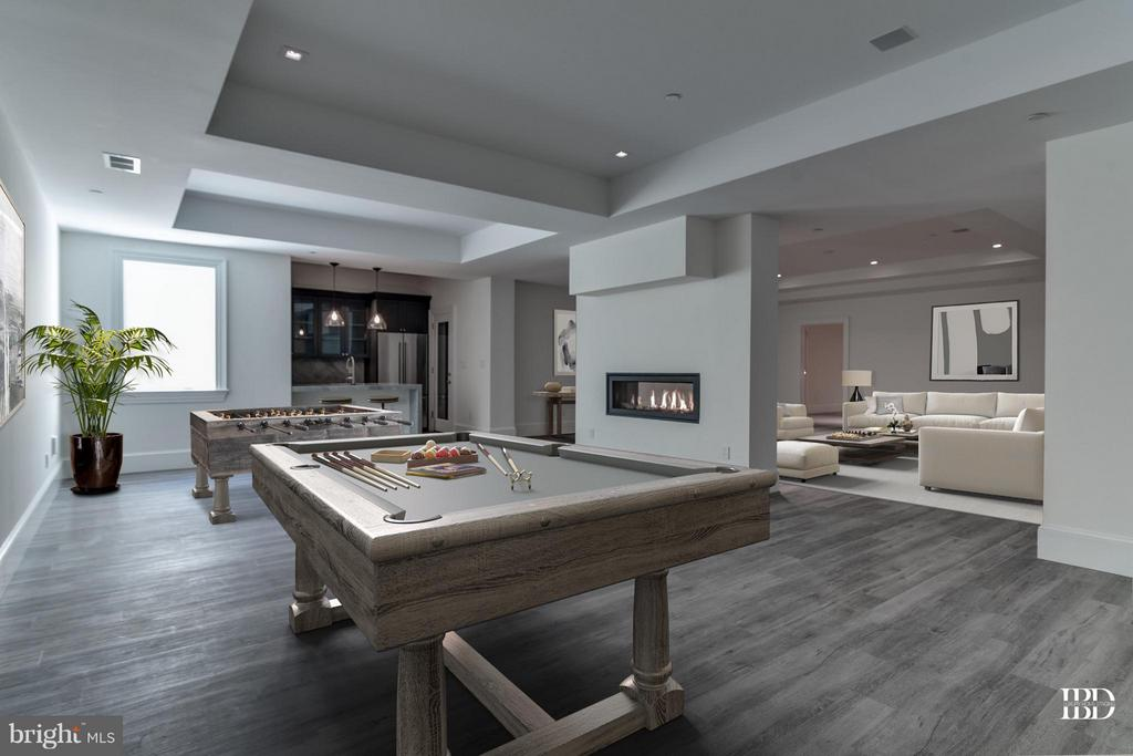 Recreation/Game Room - 7205 ARROWOOD RD, BETHESDA