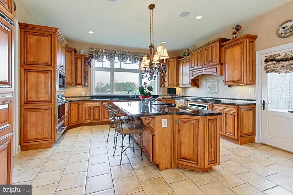 Chef's delight with top of line appliances - 13104 LAUREL GLEN RD, CLIFTON