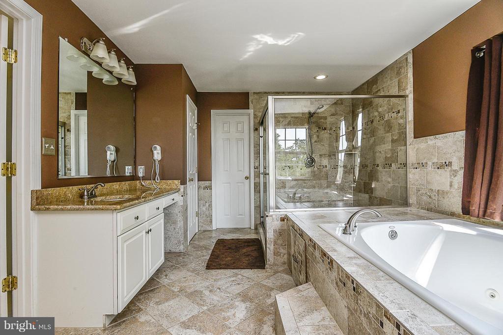 Luxury Master bath - 14456 SEDONA DR, GAINESVILLE