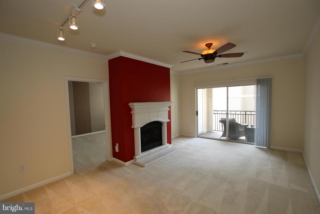 Cozy gas fireplace - 12925 CENTRE PARK CIR #301, HERNDON