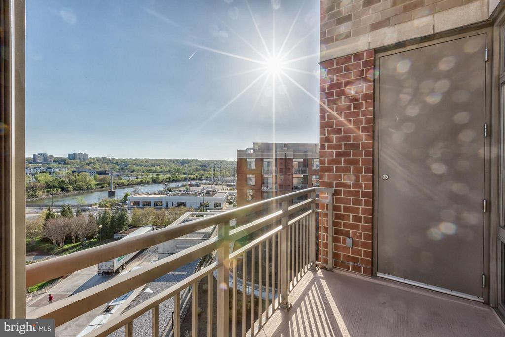 Outdoor Patio - 3600 GLEBE RD #623W, ARLINGTON