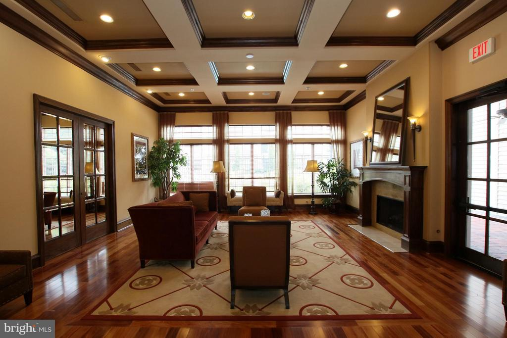 Clubhouse interior - 12925 CENTRE PARK CIR #301, HERNDON