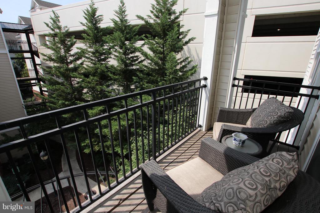 Balcony overlooking community - 12925 CENTRE PARK CIR #301, HERNDON