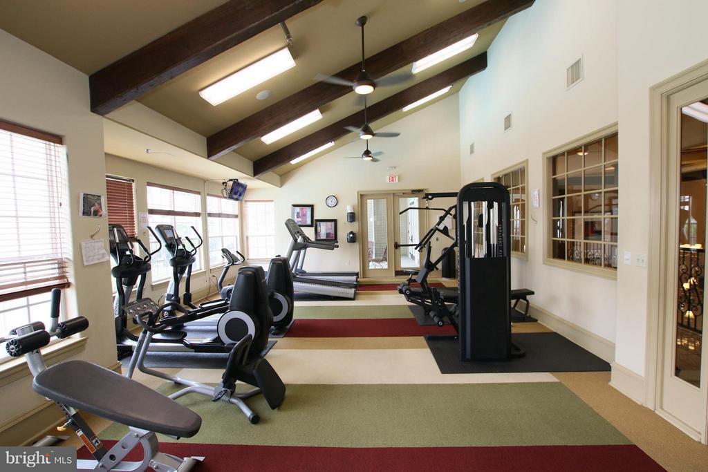 Fitness room - 12925 CENTRE PARK CIR #301, HERNDON