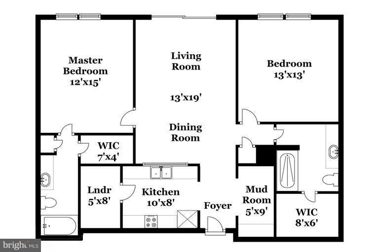 Open Floor Plan - 12925 CENTRE PARK CIR #301, HERNDON