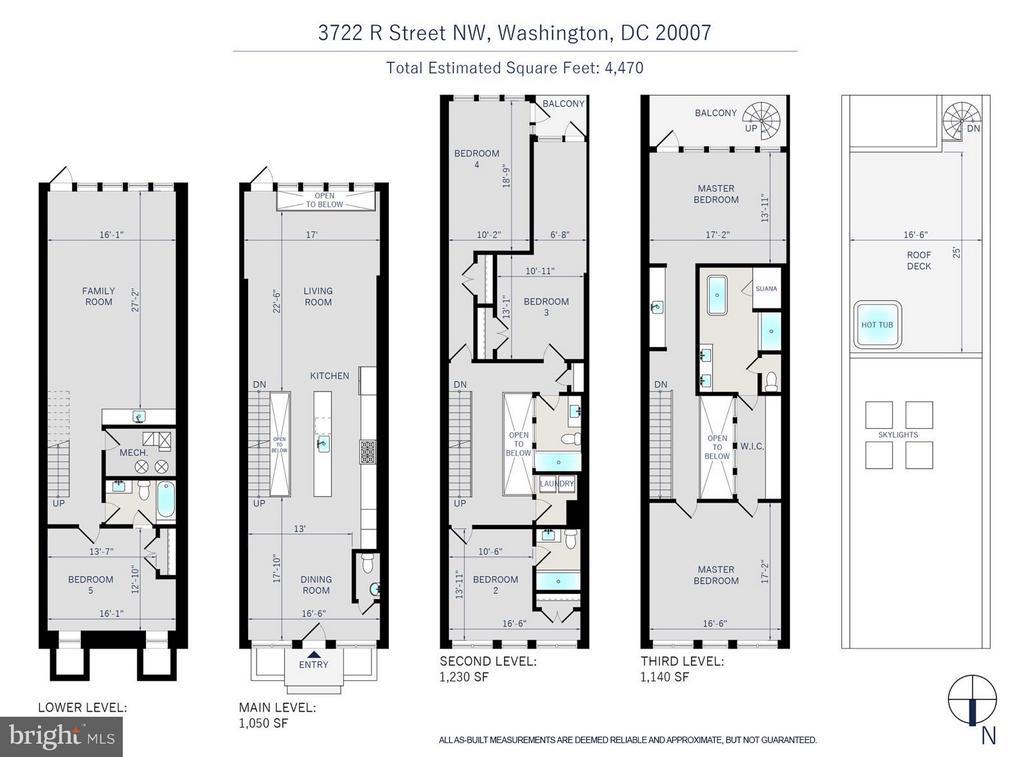 WINDOW, SKYLIGHTS/LIGHTWELLS EMIT A LUMONOUS QUALI - 3722 R ST NW, WASHINGTON