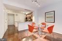Dining Area (2 of 2) - 400 MASSACHUSETTS AVE NW #415, WASHINGTON