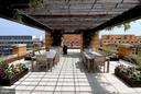 Roof Deck Party Area (1 of 2) - 400 MASSACHUSETTS AVE NW #415, WASHINGTON