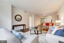 Living Room (3 of 3) - 400 MASSACHUSETTS AVE NW #415, WASHINGTON