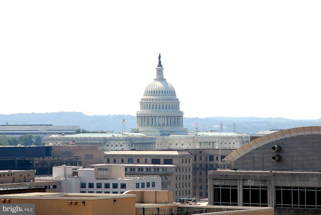Roof Deck View - 400 MASSACHUSETTS AVE NW #415, WASHINGTON