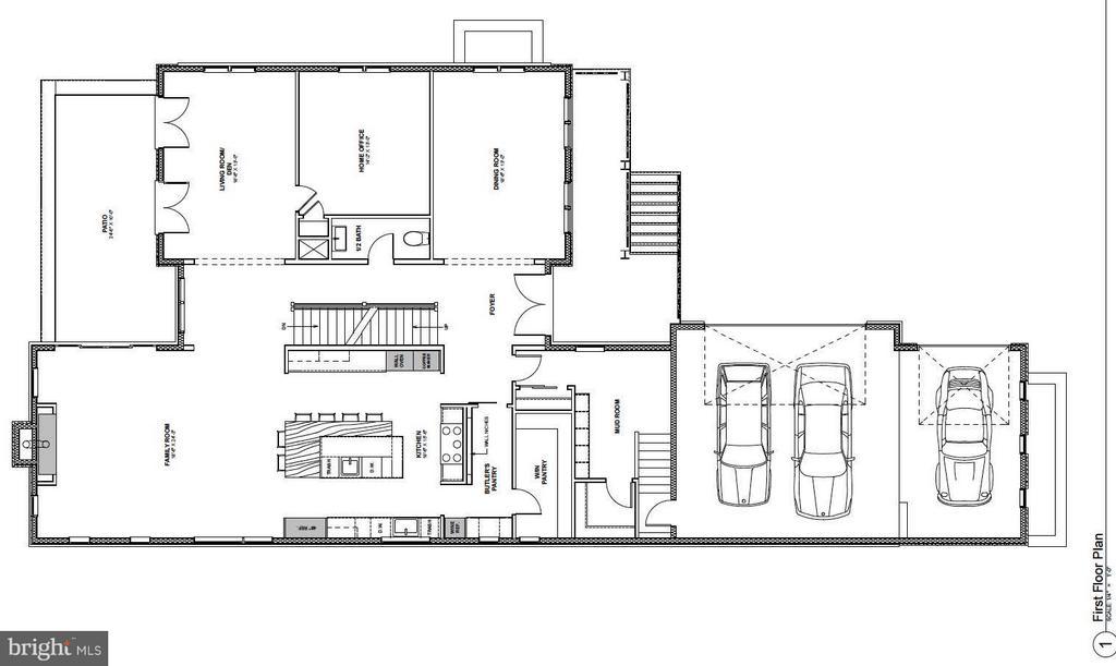 Main Level Floorplan - 4669 34TH ST N, ARLINGTON