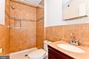 Master Bathroom - 1231 DELAFIELD PL NE, WASHINGTON