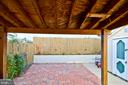 patio - 1231 DELAFIELD PL NE, WASHINGTON