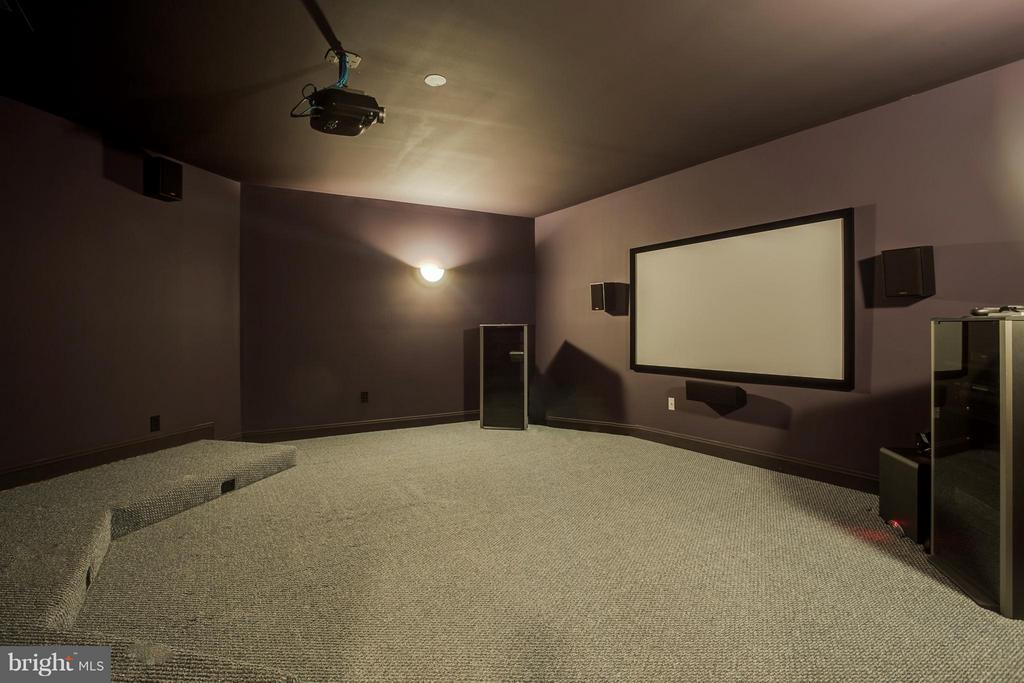 Huge state of the art  Home Theater! - 10504 TURNING LEAF LN, SPOTSYLVANIA