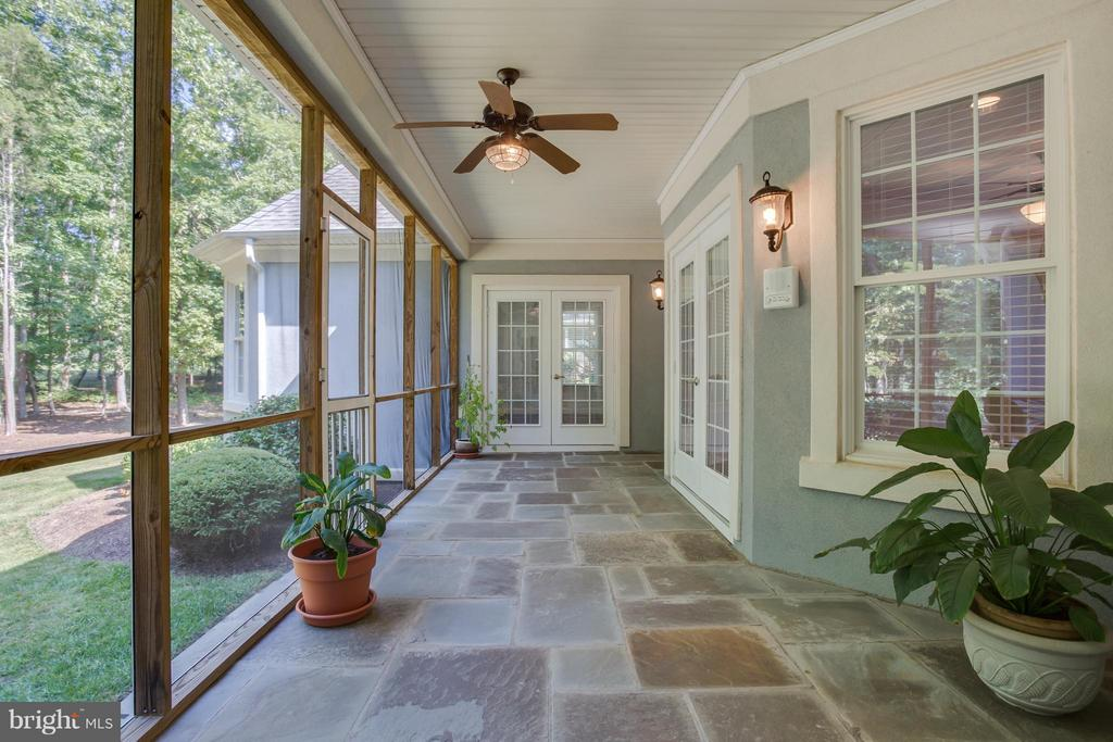 Screened Porch with Slate Tile! - 10504 TURNING LEAF LN, SPOTSYLVANIA