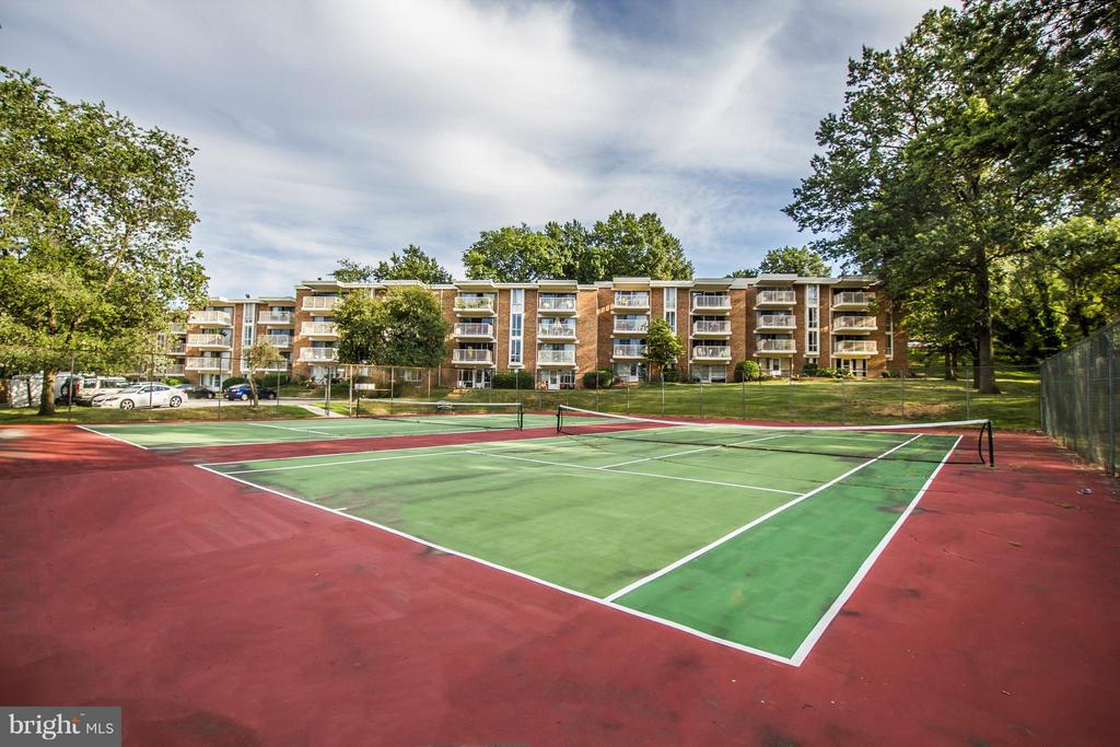 Tennis Court - 2634 WAGON DR #279, ALEXANDRIA