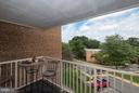 Balcony - 2634 WAGON DR #279, ALEXANDRIA