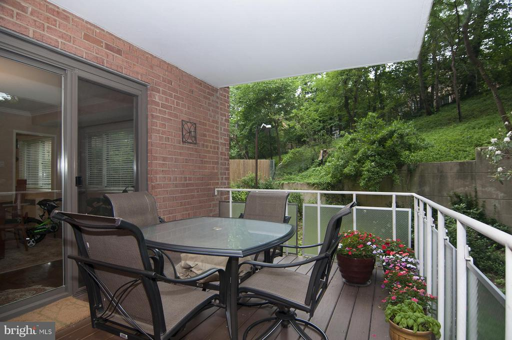 Balcony - 4201 CATHEDRAL AVE NW #301W, WASHINGTON