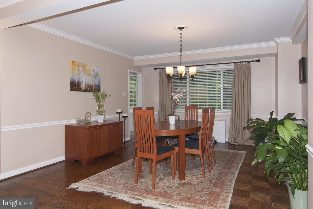 Dining Room - 4201 CATHEDRAL AVE NW #301W, WASHINGTON