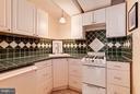 Lower Level Kitchen - 1613 35TH ST NW, WASHINGTON