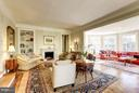 Living Room into Sun Room - 4934 INDIAN LN NW, WASHINGTON