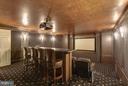 Media Room - 4934 INDIAN LN NW, WASHINGTON