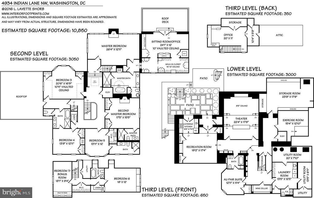 Floor Plan - 4934 INDIAN LN NW, WASHINGTON