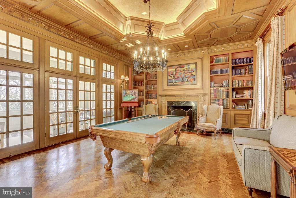 Billiards Room - 4934 INDIAN LN NW, WASHINGTON