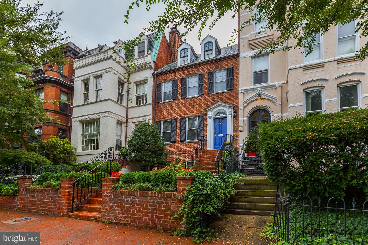 Single Family for Sale at 1613 35th St NW Washington, District Of Columbia 20007 United States
