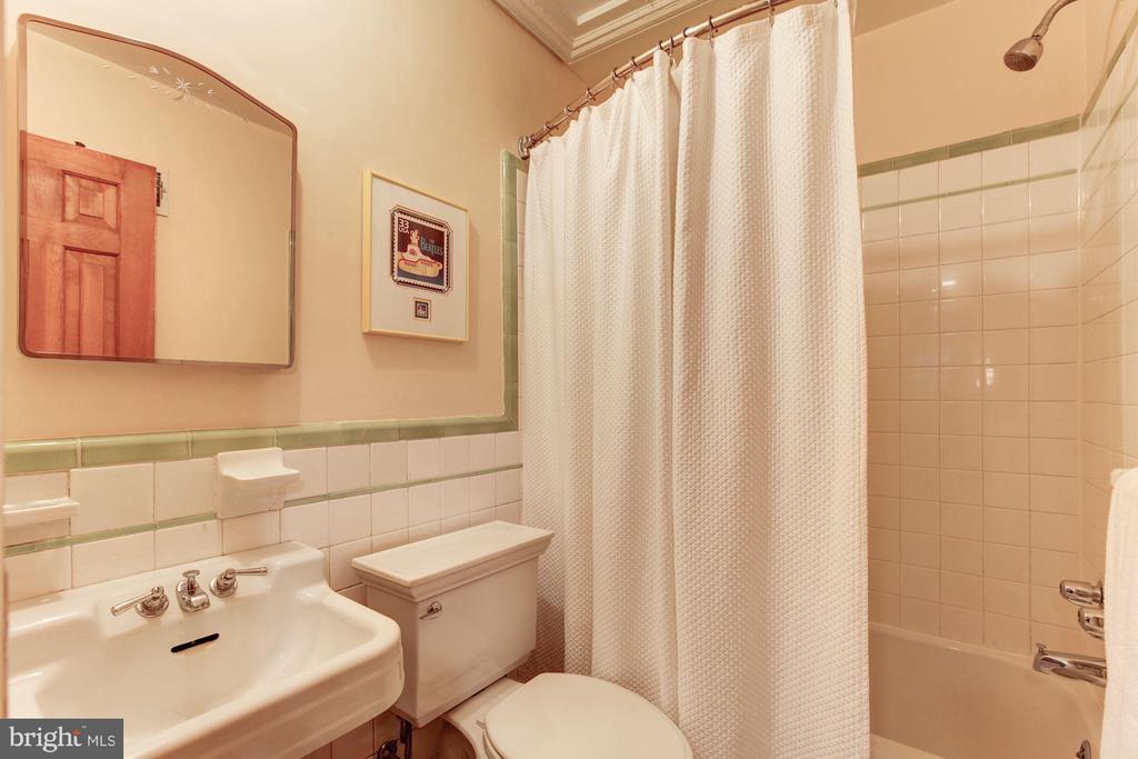 Lower Level Full Bathroom - 1613 35TH ST NW, WASHINGTON