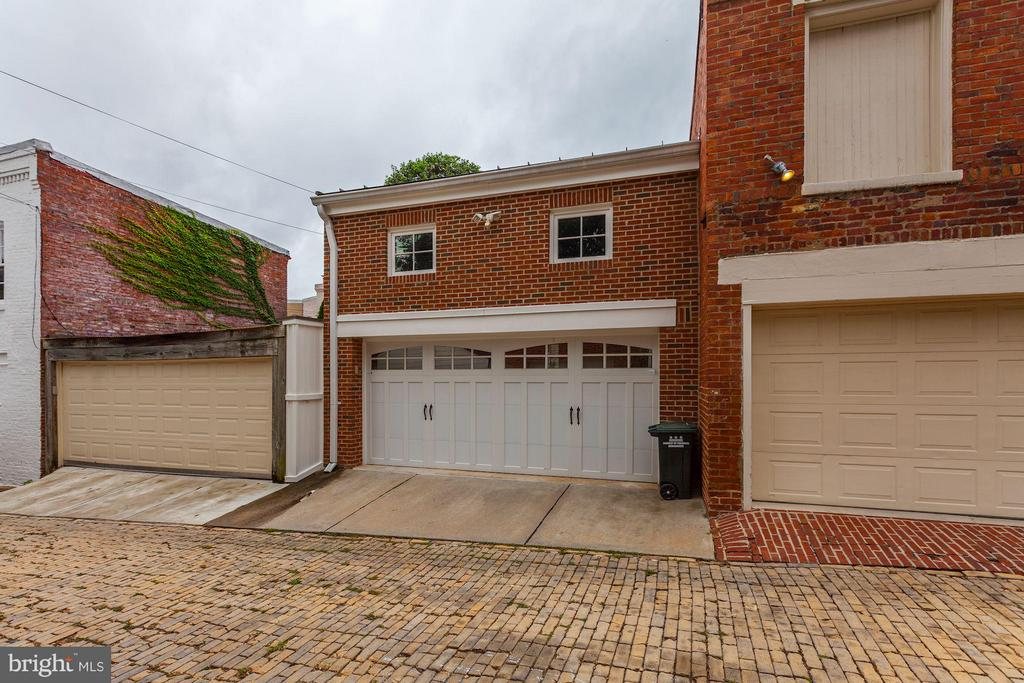 Two Car Garage with Security System - 1613 35TH ST NW, WASHINGTON