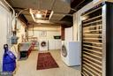Laundry Room offers Extra Storage - 1613 35TH ST NW, WASHINGTON