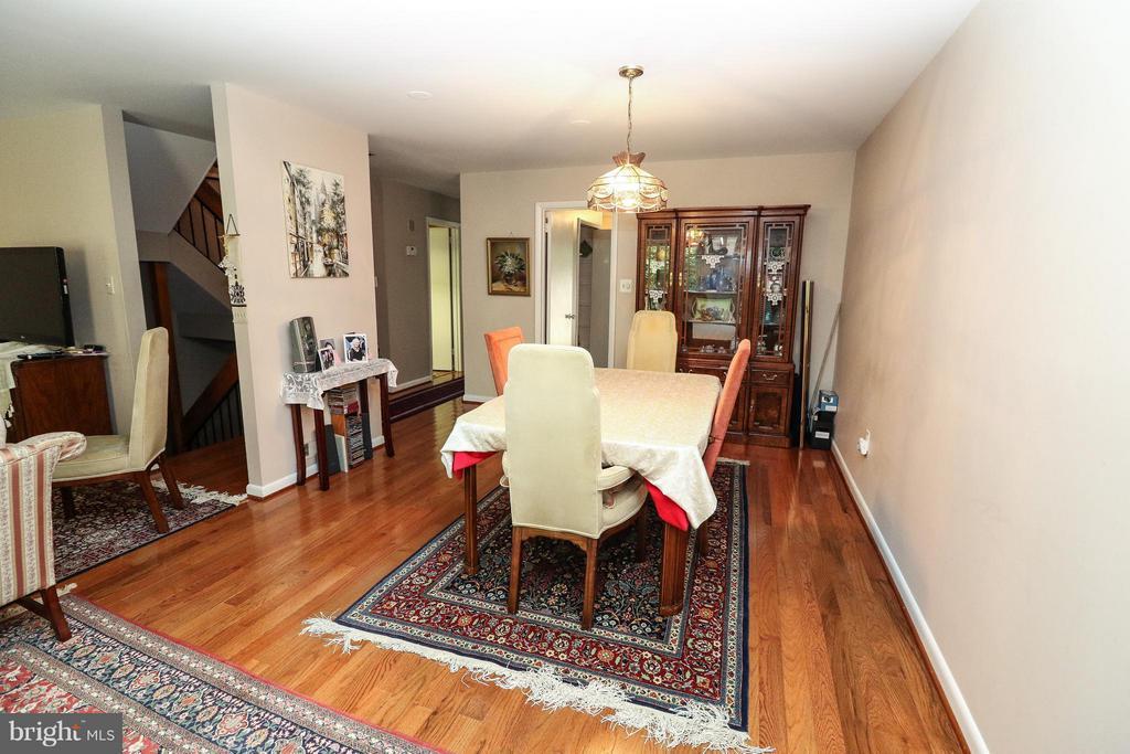Dining Room - 2021 WETHERSFIELD CT, RESTON
