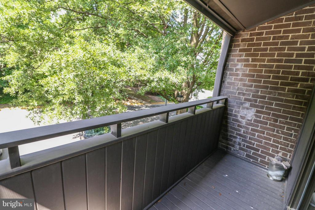 Balcony off of living room - 2021 WETHERSFIELD CT, RESTON