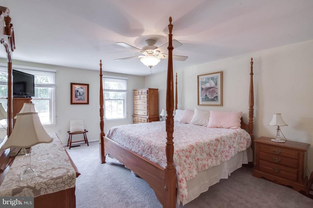 Master Bedroom with walk-in closet - 304 COUNTRY CLUB DR SW, LEESBURG
